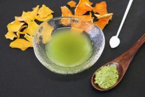 山形市のフレーバー緑茶専門店フレーバーグリーンのジンジャーエールフレーバー緑茶