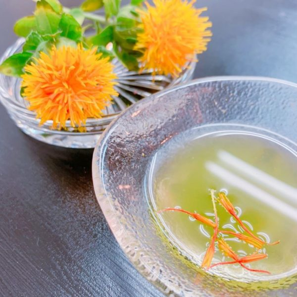 フレーバー緑茶専門店フレーバーグリーン、モンテディオ山形マッチデープレゼントの受け取りありがとうございました!