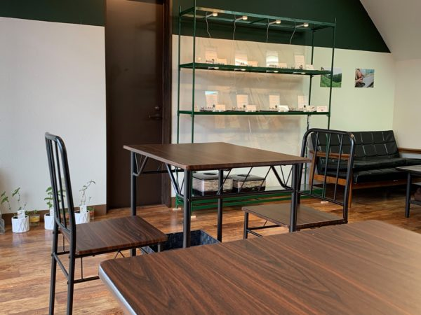 フレーバー緑茶専門店フレーバーグリーン店内画像