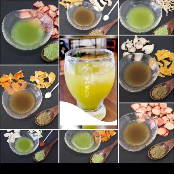 自社製造の手造りフレーバー緑茶│フレーバー緑茶専門店│山形市フレーバーグリーン