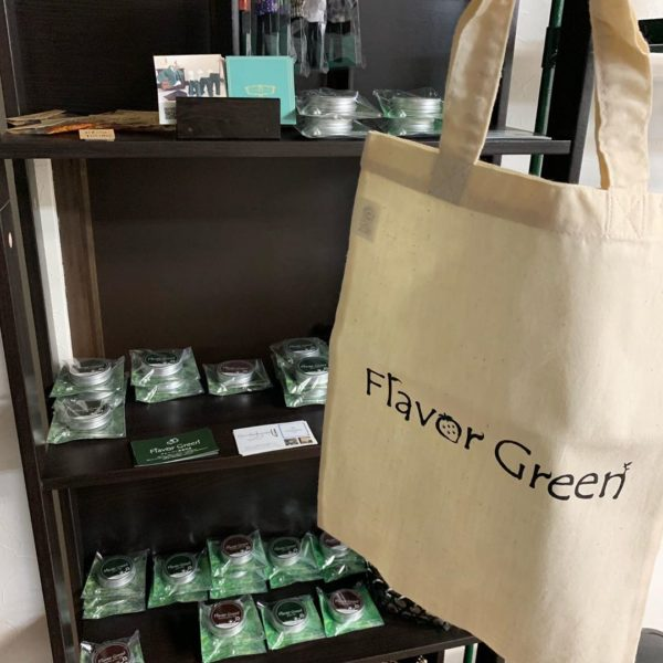 フレーバー緑茶専門店フレーバーグリーンのトートバッグ